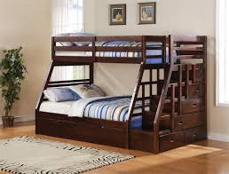 endearing bunk beds with steps 9 elegant double stairs white