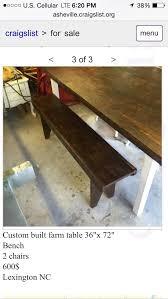 craigslist asheville furniture
