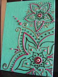 texture art definition puffy paint craftsdiy canvascanvas