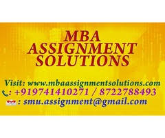 mba assignment solutions classifieds online rs 250 per subject for nmims solved assignments