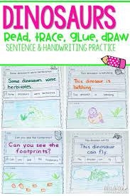Dinosaur Fun Handwriting Practice With A