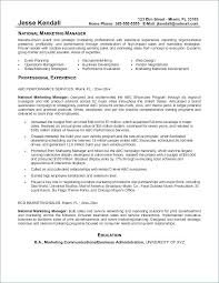 Sales And Marketing Resume Sample Best of Example Of A Marketing Resume Marketing Manager Resume Example