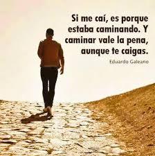 Caminando...