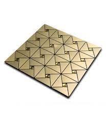 Buy 30x30cm Mosaic Aluminum Tile Self ...
