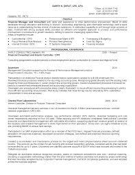finance resume skills