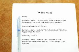 Formatting Mla Works Cited Page Lividrecords