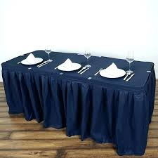 navy round tablecloth navy blue tablecloth navy blue pleated polyester table skirt navy blue inch round navy round tablecloth