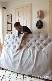 diy tufted headboard how to 2