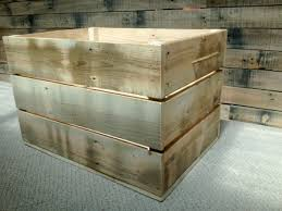 wooden pallet storage crates larger size