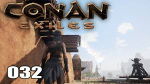 Thralls are npcs which can be captured and then placed in the player's camp to either craft items or defend it against invasions depending on the type of thrall it is. Conan Exiles 032 Die Treppe Des Grauens Multiplayer Deutsch German Youtube