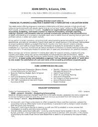 Financial Executive Resume Finance Cover Letter Sample Resume And ...