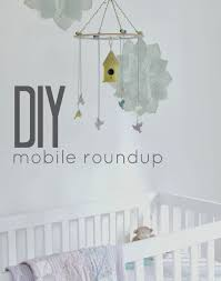 DIY mobile for nursery
