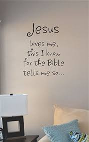 jesus loves me this i know vinyl wall art decal sticker on vinyl wall art stickers with amazon jesus loves me this i know vinyl wall art decal sticker