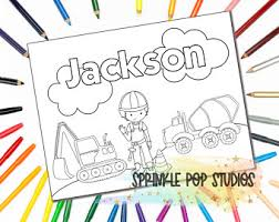 Welcome to our popular coloring pages site. Coloring Pages Name Etsy