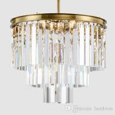 High end pendant lighting Outstanding High High End American Retro Led Pendant Lamps Crystal Chandeliers Light Elegant Creative Led Pendant Lights For Restaurant Club Bar Villa Duplex Bronze Pendant Dhgate High End American Retro Led Pendant Lamps Crystal Chandeliers Light