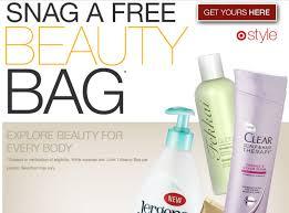 target beauty bag winter
