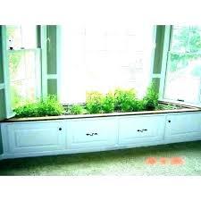 indoor kitchen window box gardens wen garden herb kit plans small design photograph gift hanging h