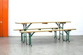 beer garden table. Beer Garden Table Folding And Bench Sets In Natural Pine