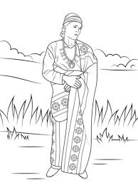 Small Picture Navajo Indian Coloring Page Free Printable Coloring Pages inside