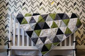 Triangle Baby Quilt // For Emerson & Triangle-Baby-Quilt Adamdwight.com