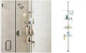 Full Size of Bathroom Accessories:bathroom Shower Caddy Ideas Simplehuman  Adjustable Tension Shower Caddy Bathroom ...