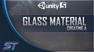 Creating a Basic Glass Material in Unity - YouTube