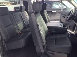 2010 2016 chevrolet silverado ext cab black katzkin leather interior seat cover
