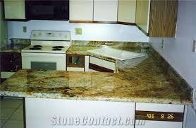 golden rustic granite countertops yellow granite countertops