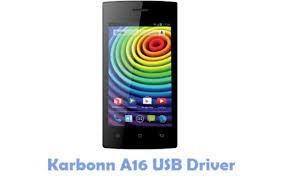 Download Karbonn A16 USB Driver