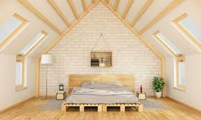 attic bedroom furniture. 10white-and-pine-bedroom-in-attic Attic Bedroom Furniture