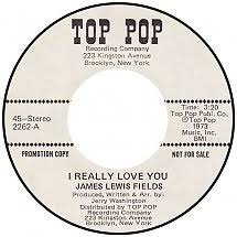 45cat - James Lewis Fields - I Really Love You / How Long Shall I Wait -  Top Pop Recording - USA - 2262