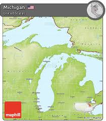Image result for free map of michigan