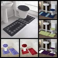 strpe style mix colors bathroom set