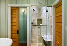 view in gallery sparkling shower with glass door steals the show in this brilliant bath