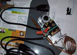 johnson controls a28aa 36 two stage thermostat wiring home brew note that i ve only wired the hi stage in this picture