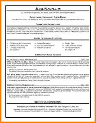 Emergency Nurse Resume Best 48 ER Nurse Resume Samples Business Opportunity Program