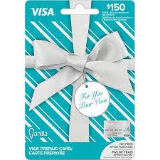 150 vanilla visa gift card