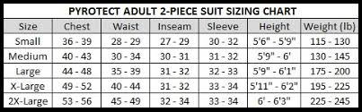Pyrotect Helmet Size Chart Sizing Charts Hyatt Racing Products