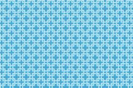 Lattice Lake <b>Blue Stylish</b> Tile <b>Pattern</b> By Artaic