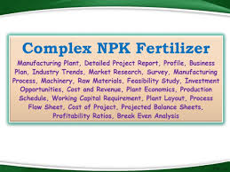 Feasibility Study Process Flow Chart Fertilizer Manufacturing Process Flow Chart Niir Project