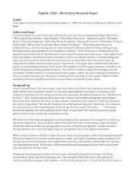 English Research Paper Example Literature Sample College Rawnjournals