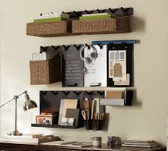 Smartness Ideas Home Office Wall Organizer With Gabrielle System Hanging  Metal Cup Pottery Barn Diy Organizers