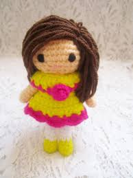 Amigurumi Doll Patterns Delectable Little Amigurumi Doll Pattern A Little Love Everyday