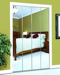 closet door mirrors mirror doors mirrored wardrobe doors bi fold door system wide mirrored closet