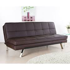 contemporary leather sofa sleeper. furniture, modern design tufted brown leather sofa bed for minimalist living room concept: contemporary sleeper