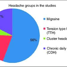 Different Types Of Headaches Chart The Pie Chart Shows The Headache Types Included In The 80