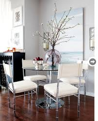 glass dining table decor ideas