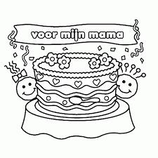 Kleurplaat Bloemen Mama Kleurplaat Vor Kinderen 2019