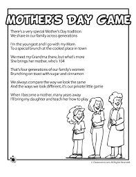 Mother's Day Kids Poems | Woo! Jr. Kids Activities