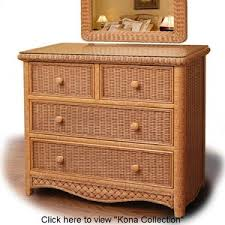 Beaches Wicker Bedroom Collections